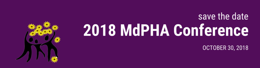 MdPHA 2018 Conference