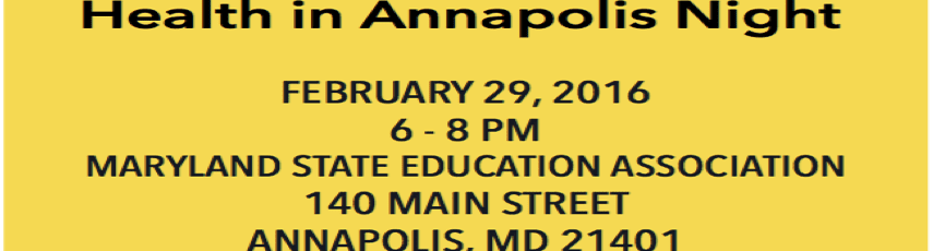 Annapolis Health Night